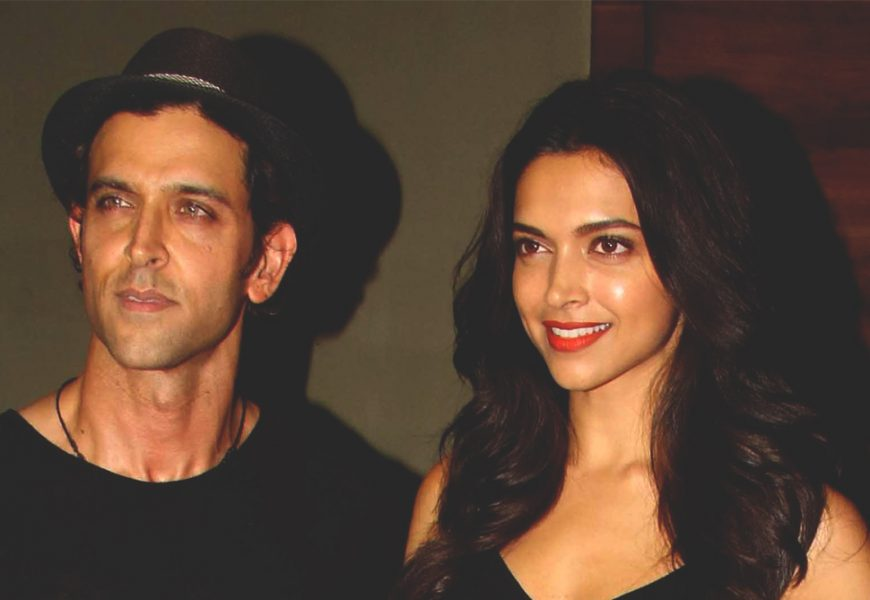 """""""Proud of Deepika"""", says Hrithik on her battle with Depression"""